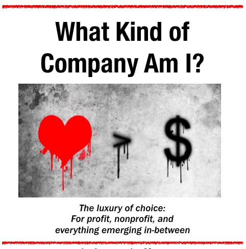 What Kind of Company Am I